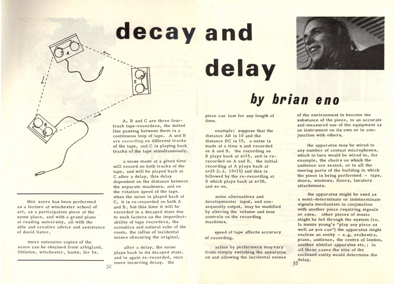 Eno 1968 - Decay and Delay